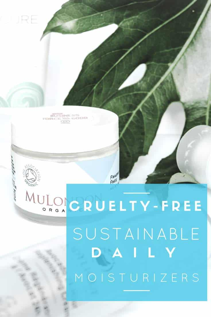 What are the best Cruelty-free, Vegan, Organic and palm oil free sustainable daily moisturizers? #sustainable #crueltyfree, #vegan and #palmoilfree