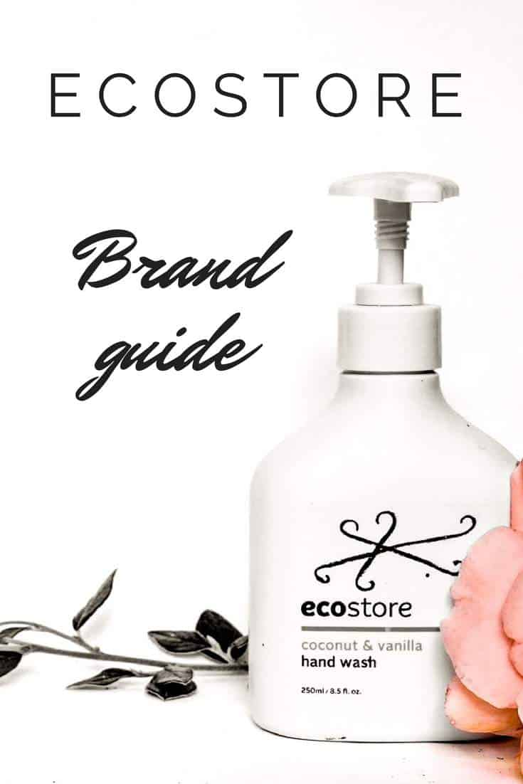 EcoStore Brand Guide: All their products are natural, cruelty-free and contain genuinely sustainable palm oil. Their packaging is made from sugarcane, they use renewable energy and source ethically #crueltyfree #natural #sustainable
