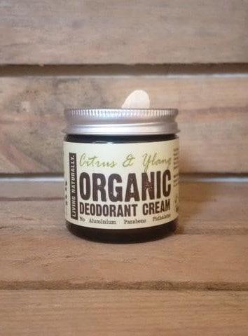 Living Naturally Natural Vegan and Cruelty Free Deodorant