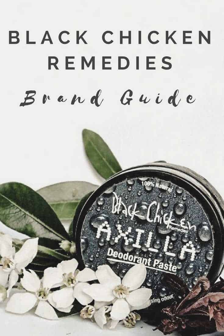 Black Chicken Remedies Brand Guide: Leading-Edge with their products being #organic/natural, #cruelty-free, #vegan (with the exception of one product) and #palmoilfree