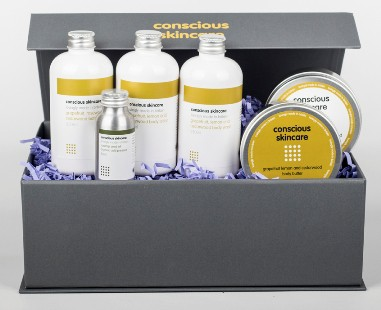 Conscious Skincare ethical gift set Sustainable Jungle