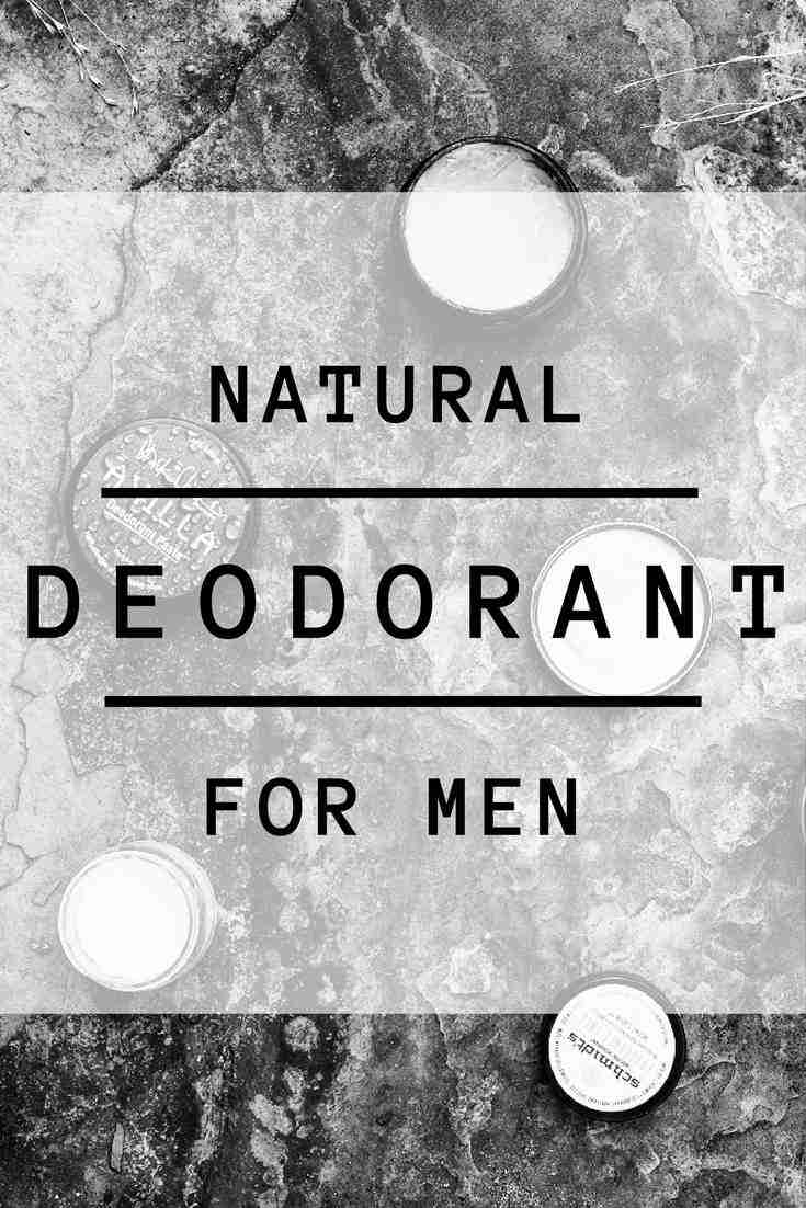 Our list of the 7 Best Natural Deodorants for Men #naturaldeodorant