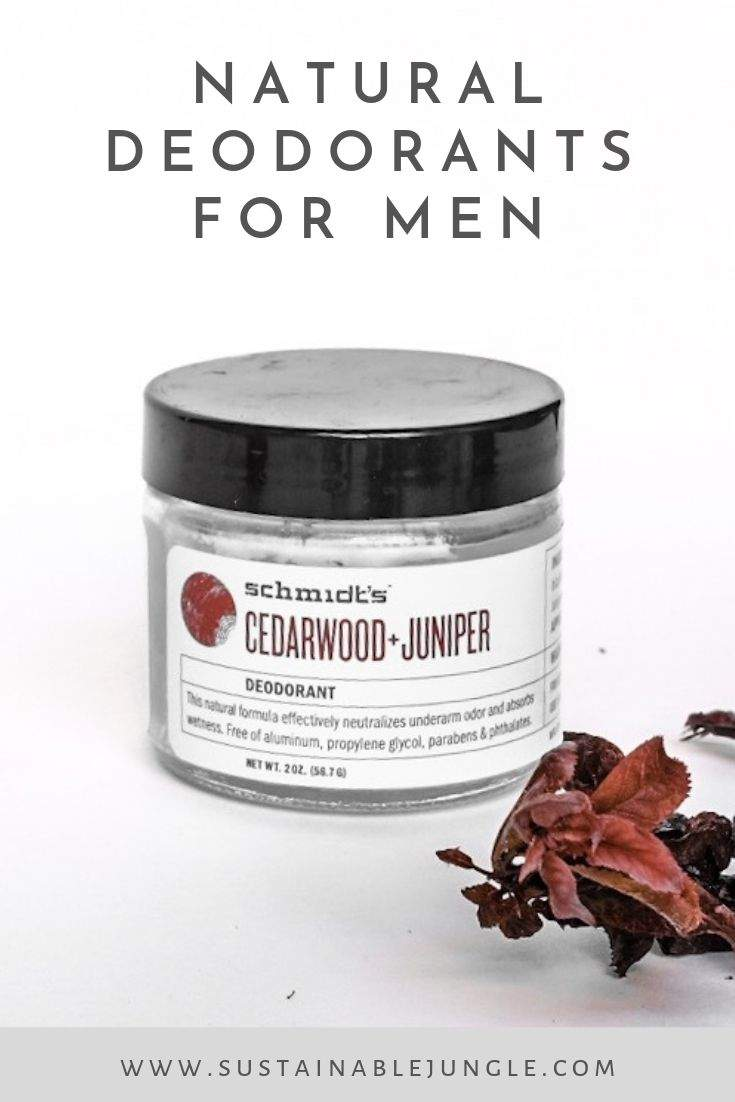 Natural deodorants for men #naturaldeodorant #deodorantformen #crueltyfree #vegan