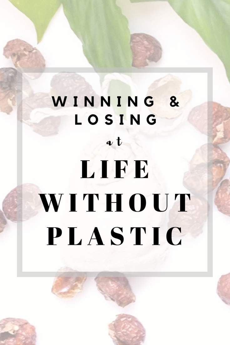 After 4 months of trying to live a life without plastic, we take stock to see how we're doing #zerowaste #lifewithoutplastic