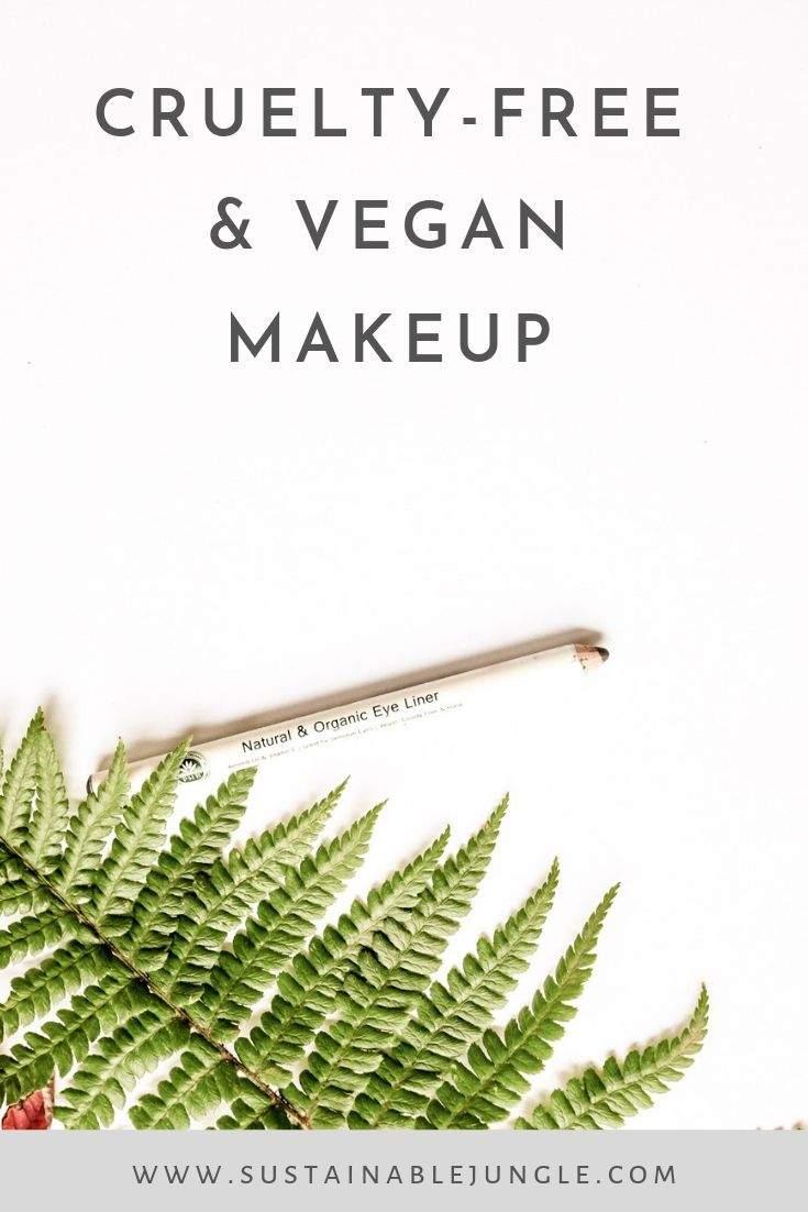 Cruelty-free Vegan Makeup #crueltyfree #vegan #makeup #ethicalbeauty #sustainableliving