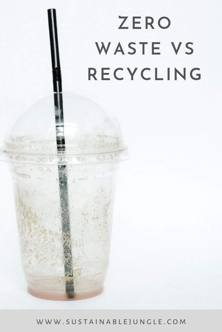 Zero Waste Vs Recycling #zerowaste #recycling