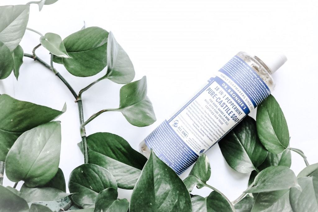 Zero Waste Dr Bronner's for Travel