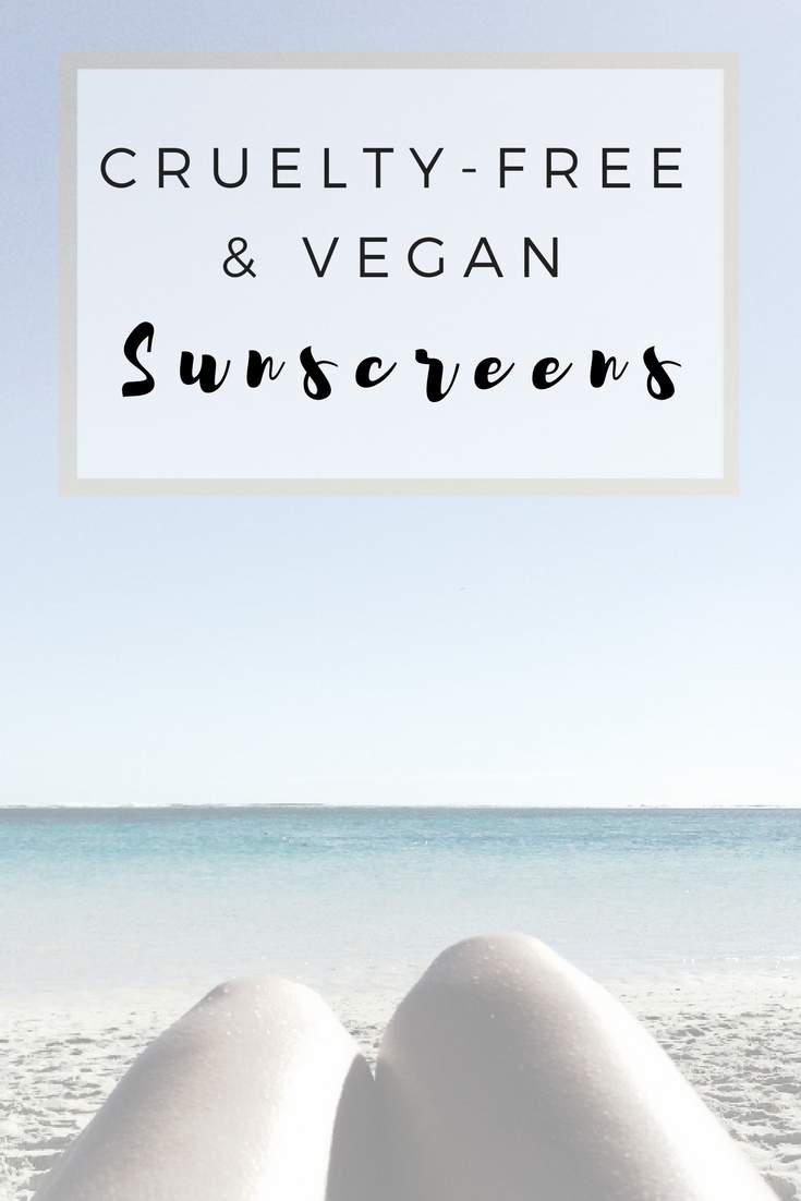Cruelty-free, vegan and sustainable sunscreens #crueltyfree #vegan