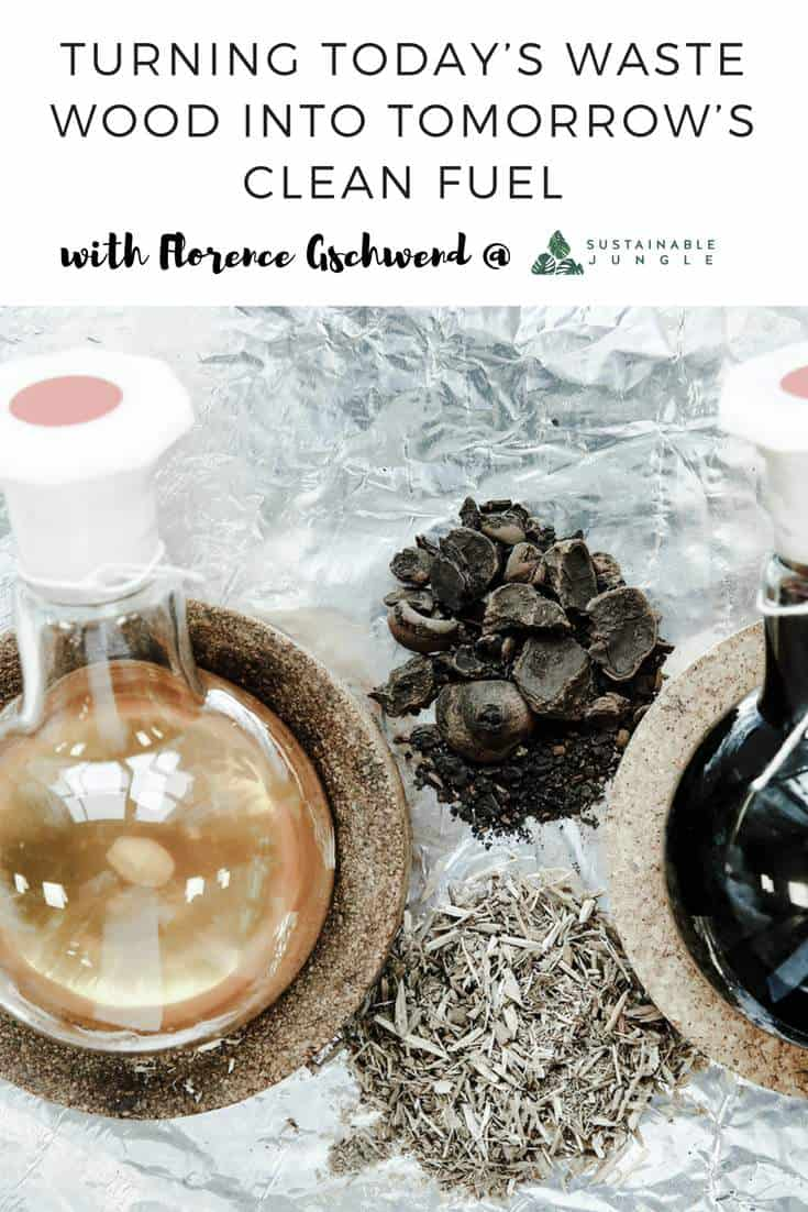 Turning waste wood into biofuel and bioplastics - We interview Florence Gschwend from Chrysalix Technologies #sustainablepodcast #sustainablechemistry #florencegschwend #chrysalix