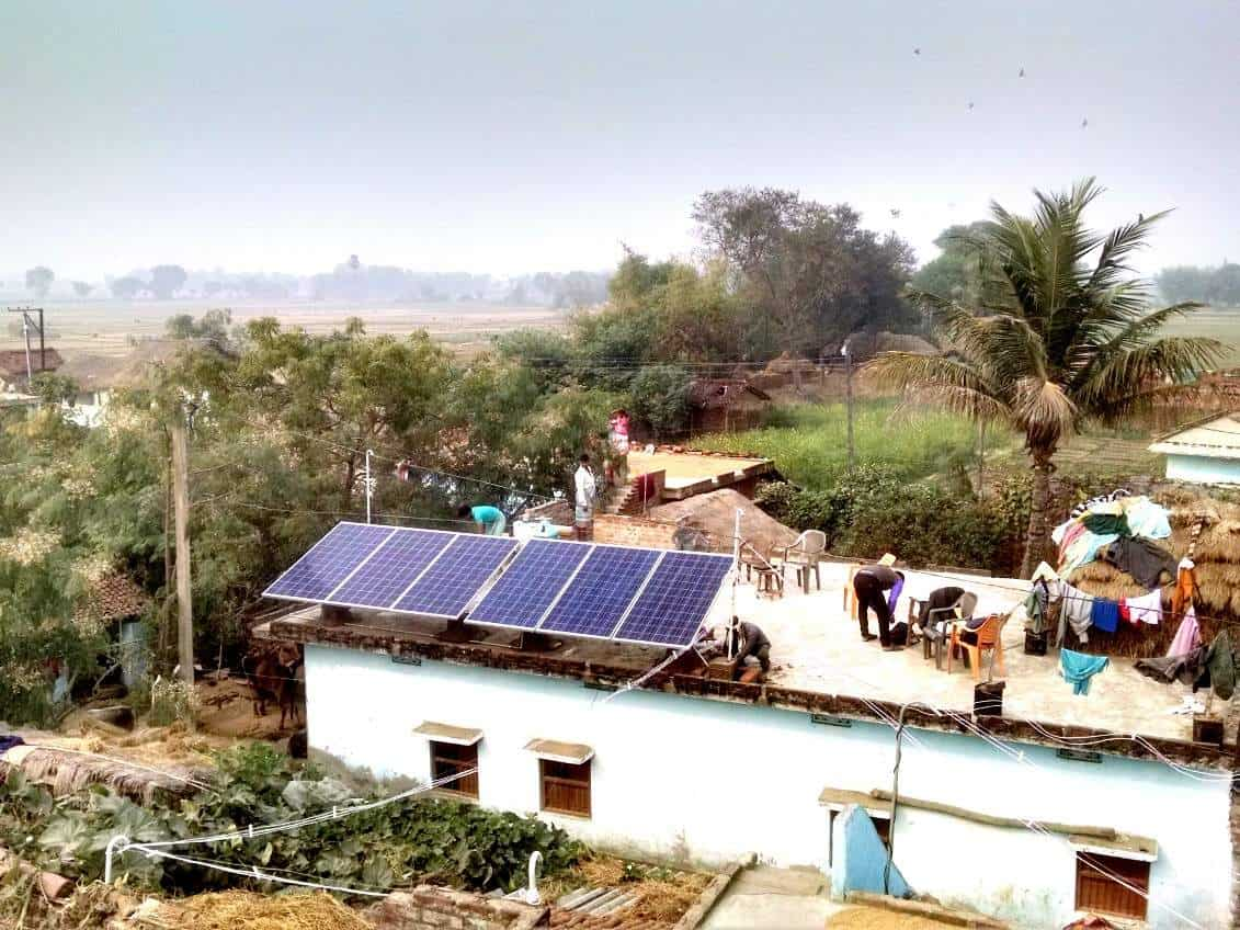 SELCO Solar panels – Image per SELCO Foundation Website