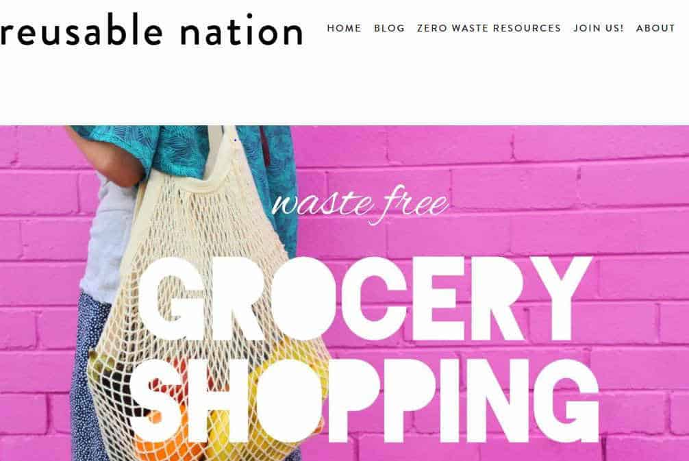 Inspiring Zero Waste Blogs That Will Change Your Life Image by Reusable Nation #zerowasteblogs