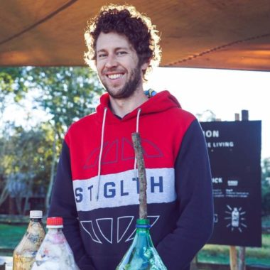 PODCAST  #28 · IAN DOMMISSE · ECOBRICKS, CHANGING BEHAVIOURS & BUILDING SCHOOLS IN SOUTH AFRICA
