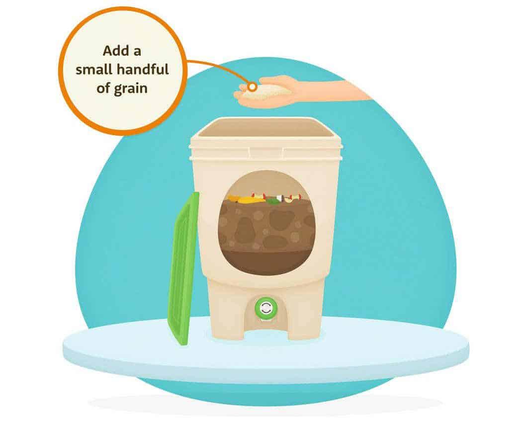 Bokashi Compost Bin Sustainable Jungle