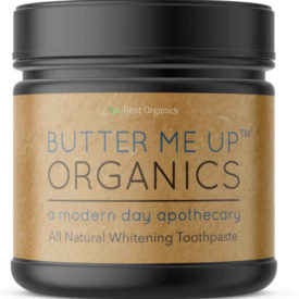 butter me up organics toothpaste sustainable jungle