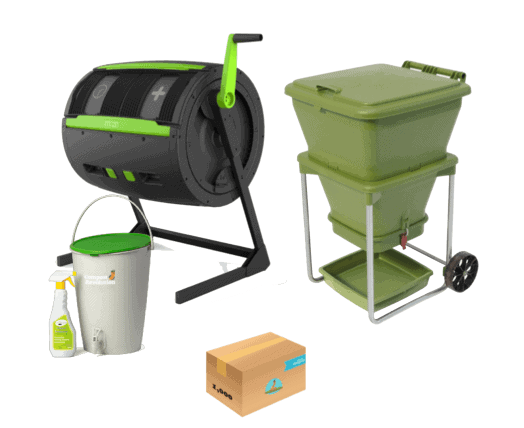 Apartment composting: Because composting has so many benefits, we've created a series of steps and options to help those living in tight quarters still dispose of this waste responsibly. Image by Compost Revolution, Australia #apartmentcomposting #sustainablejungle
