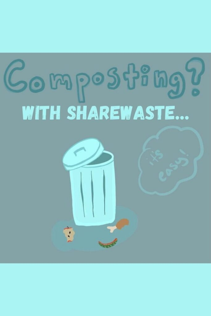 Living in a small apartment doesn't mean you can't do your part. Learn how to compost in an apartment with our apartment composting guide... Image by ShareWaste #apartmentcomposting #sustainablejungle