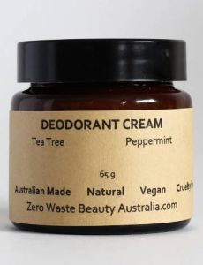 Zero Waste Beauty Australia Deodorant Cream Sustainable Jungle