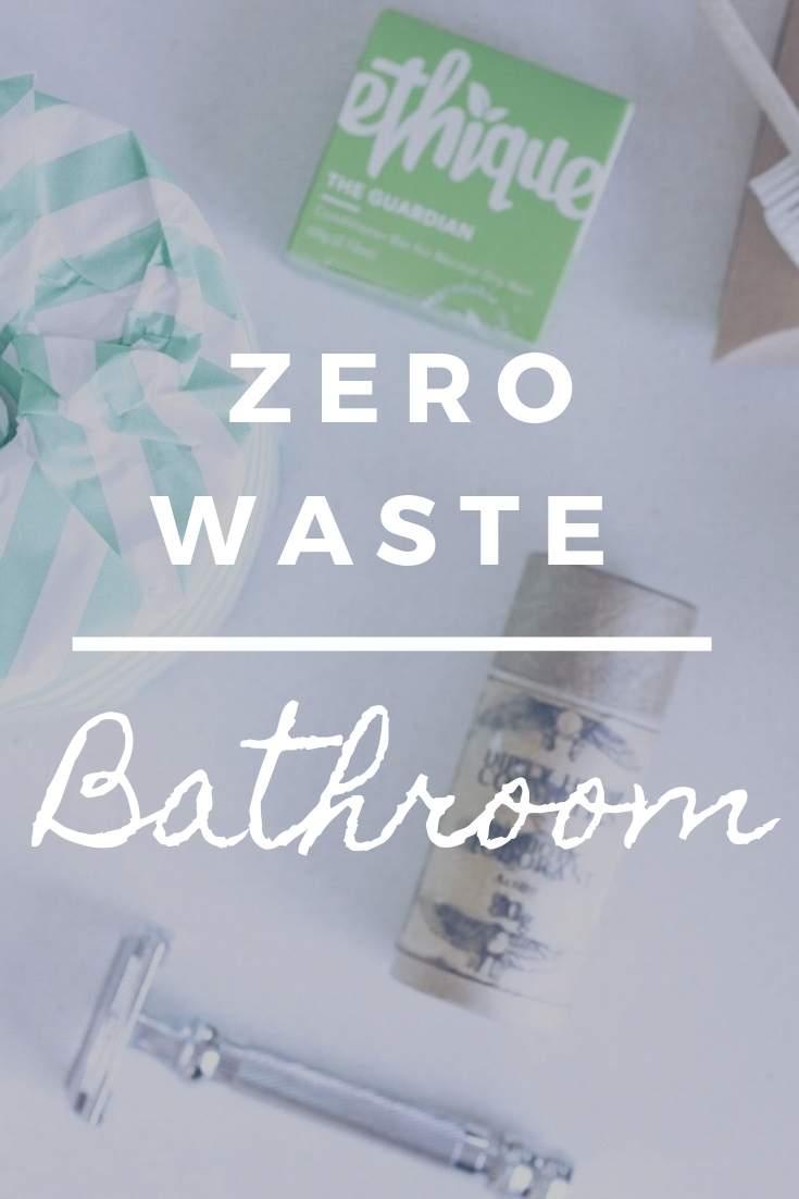 Zero Waste Bathroom Sustainable Jungle