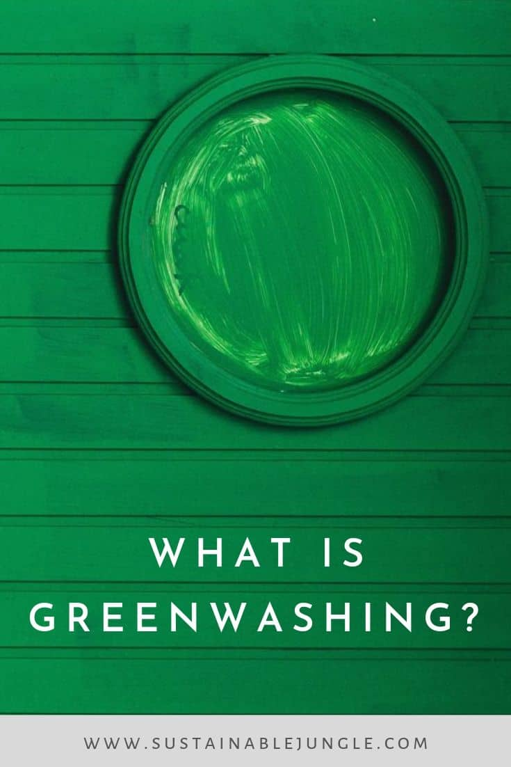 What is Greenwashing #greenwashing #greenliving