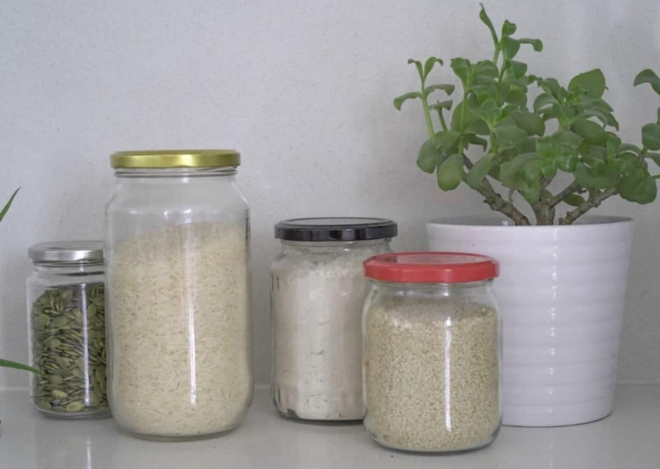 Zero Waste Kitchen - Bulk food jars