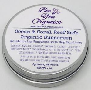 Zero Waste Sunscreen - Bee You Organics Coral Reef Safe Sunscreen