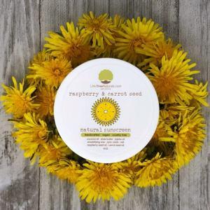 Zero Waste Sunscreen - Little Tree Naturals Rasberry Seed Sunscreen