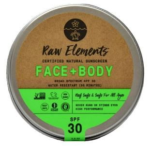 Zero Waste Sunscreen - Raw Elements Sunscreen