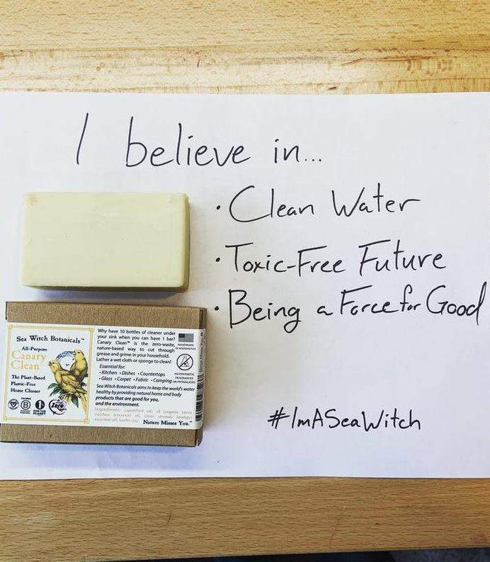 8 Zero Waste Dish Soap Options To Keep Both Your Plates & The Planet Clean Image by Sea Witch Botanicals #zerowaste #sustainableliving