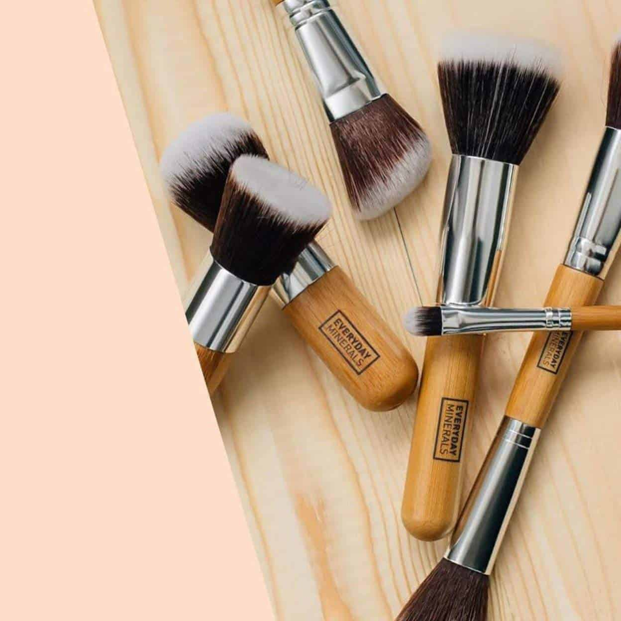 11 Vegan Makeup Brush Brands For A Flawlessly Fur Free Face Image by Everyday Minerals #veganmakeup #makeupbrush