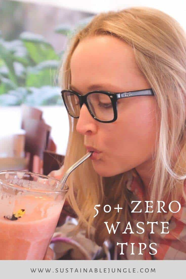 Zero Waste Tips: 50+ of the Most Impactful Earth-Happy Habits #zerowastetips #sustainableliving