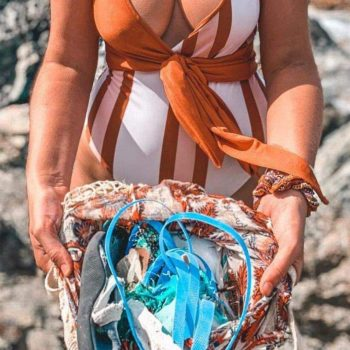 Ethical Swimwear Brands To Help You Swim Towards Sustainability #sustainablefashion #ethicalswimwear Image credit Baiia