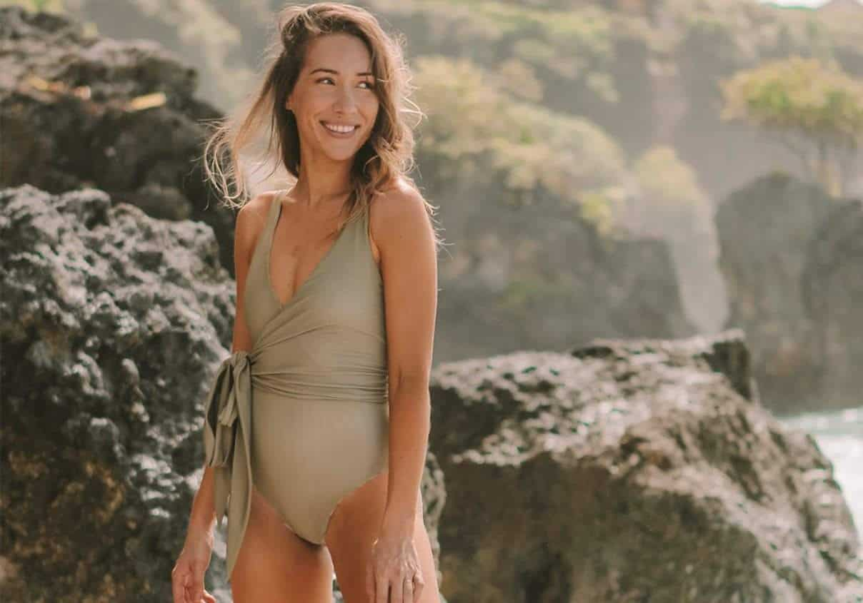 Ethical Swimwear Brands To Help You Swim Towards Sustainability Image credit Baiia #sustainablefashion #ethicalswimwear