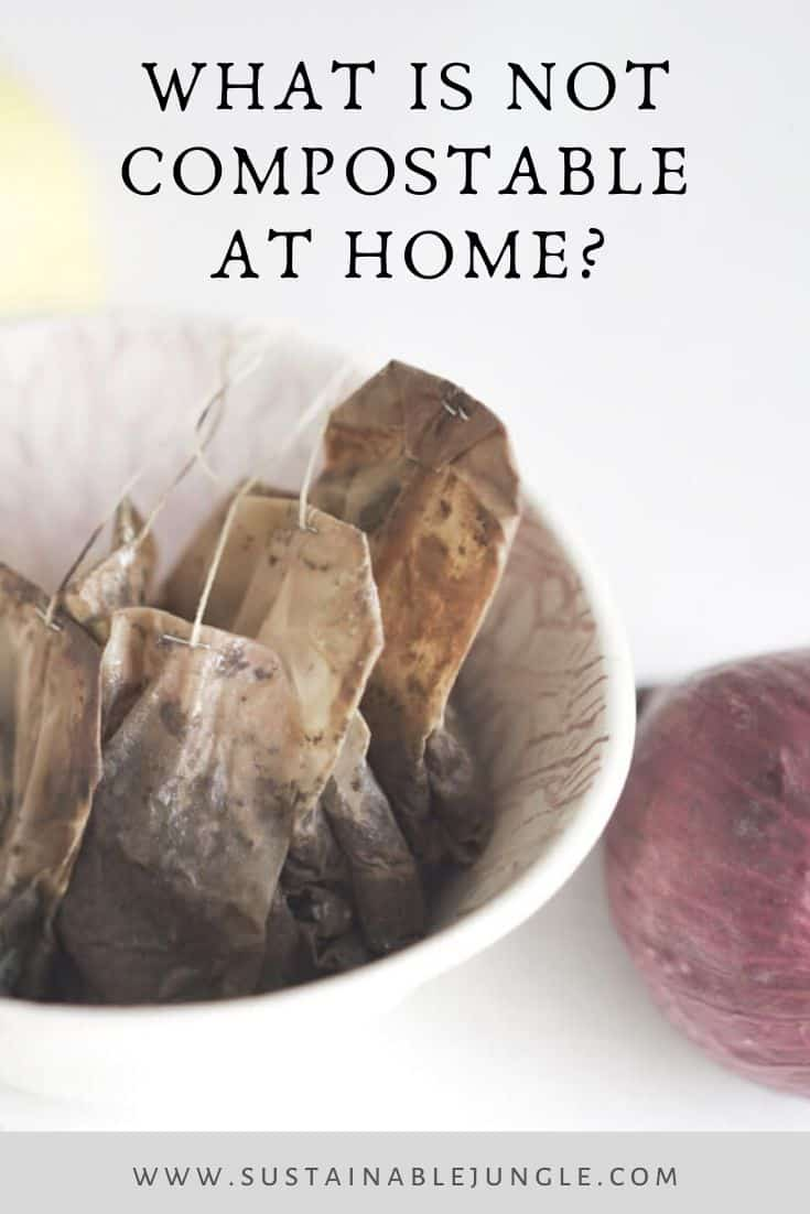 What is NOT compostable at home? #homecompostable #sustainableliving #zerowaste