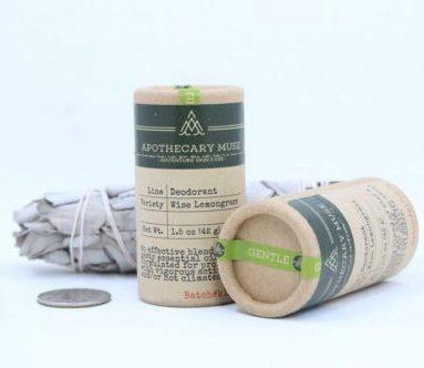 Environmentally Friendly Deodorant - Image by Apothecary Muse #environmentallyfriendly #ecodeodorant