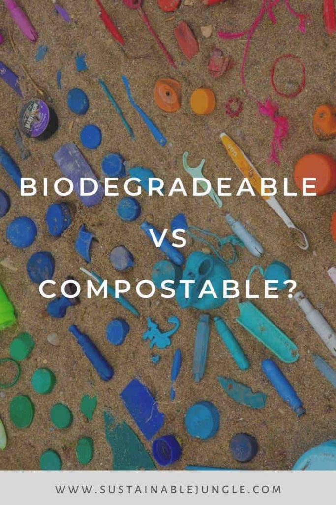 Biodegradable vs. Compostable: breaking down the differences of breaking down waste Photo by Jasmin Sessler on Unsplash #biodegradeable #compostable