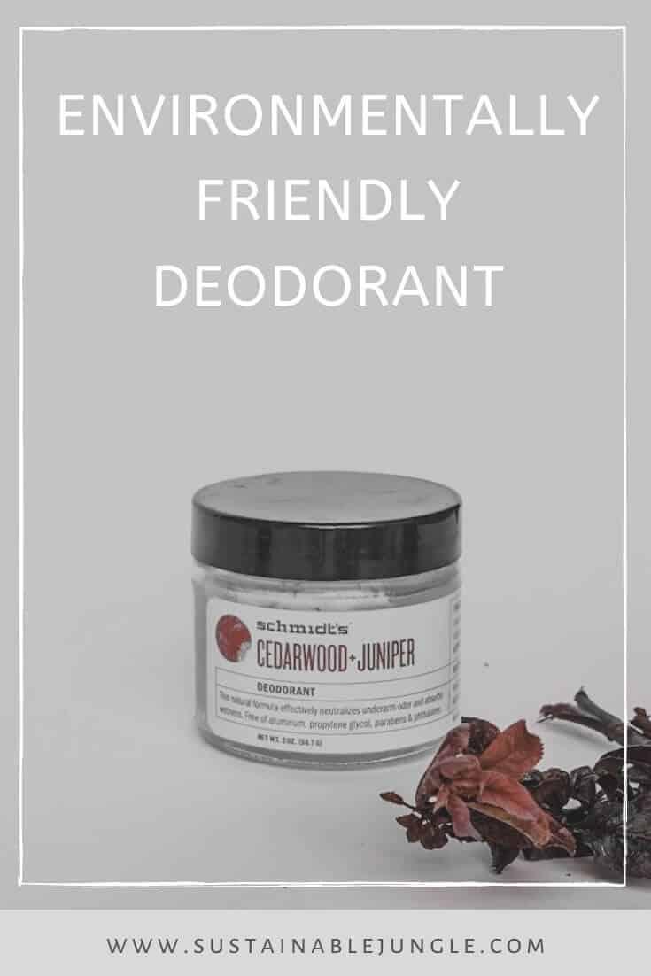 Environmentally Friendly Deodorant #environmentallyfriendly #ecodeodorant