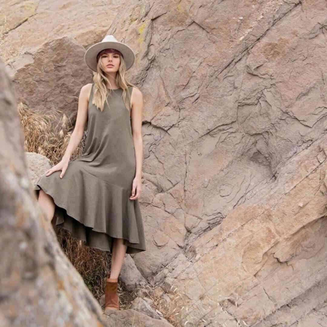 Ethically Made Fair Trade Dresses for Every Eco-cassion Image by Synergy Organic Clothing #sustainablefashion #fairtrade #ethicallymade