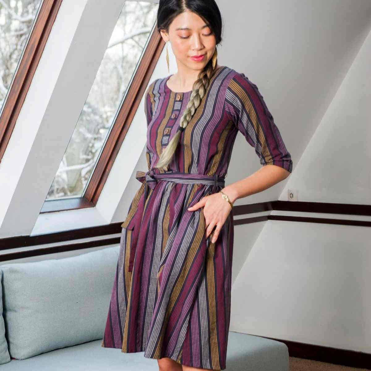 Ethically Made Fair Trade Dresses for Every Eco-cassion Image by Mata Traders #sustainablefashion #fairtrade #ethicallymade