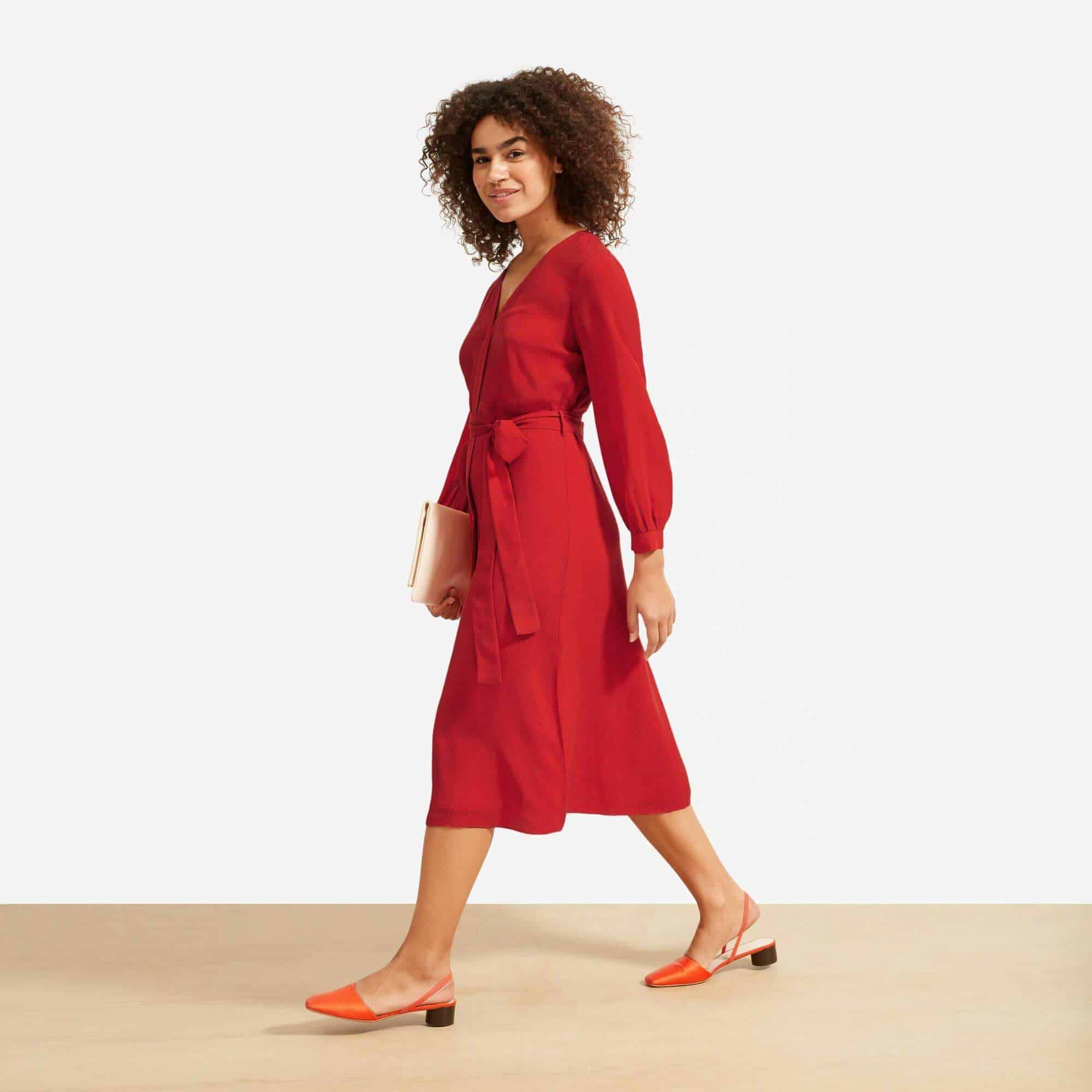 Ethically Made Fair Trade Dresses for Every Eco-cassion Image by Everlane #sustainablefashion #fairtrade #ethicallymade