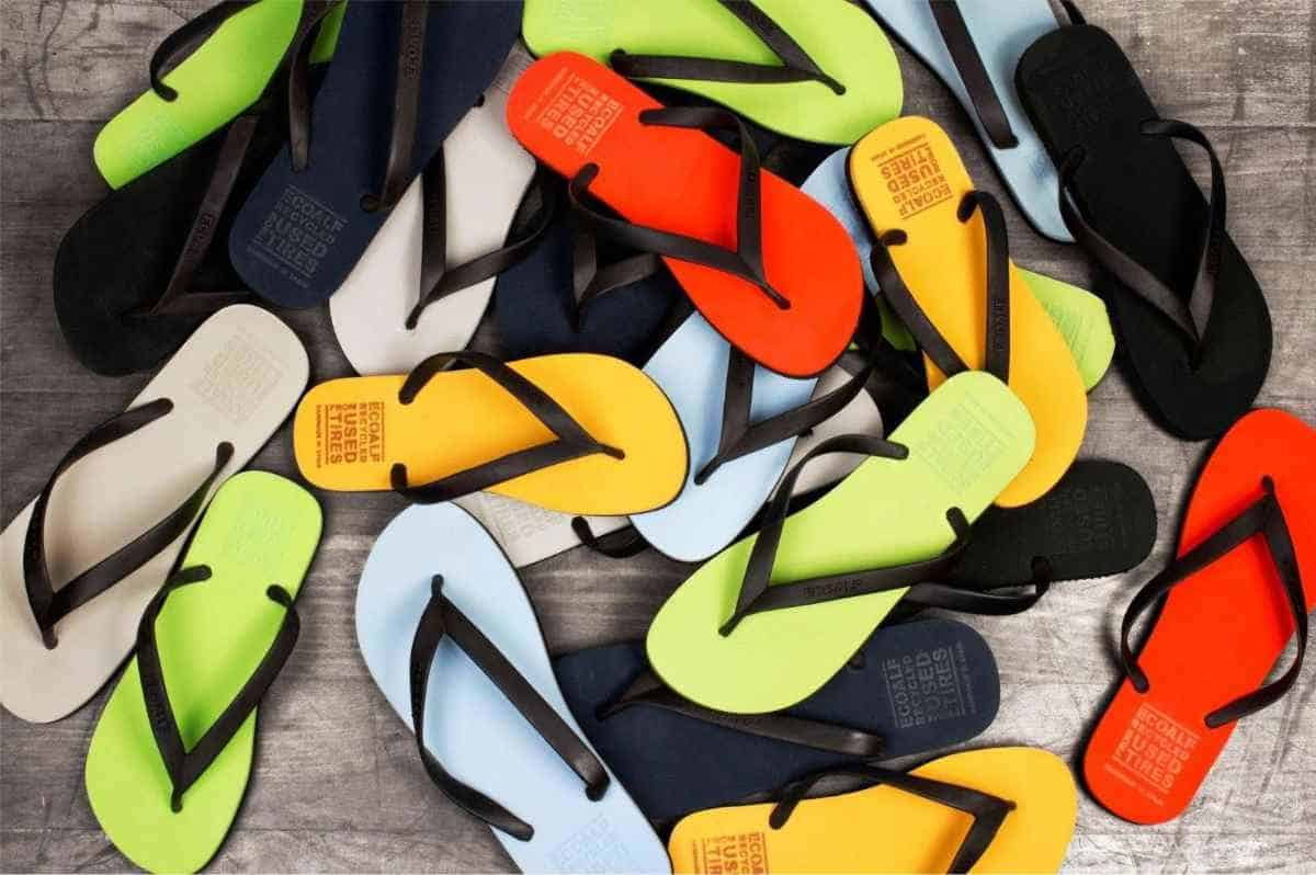 17 Flippin Fab, Eco Friendly and Recycled Flip Flops Image by Ecoalf #recycledflipflops #ecofriendlyflipflops #ethicalflipflops #sustainableflipflips