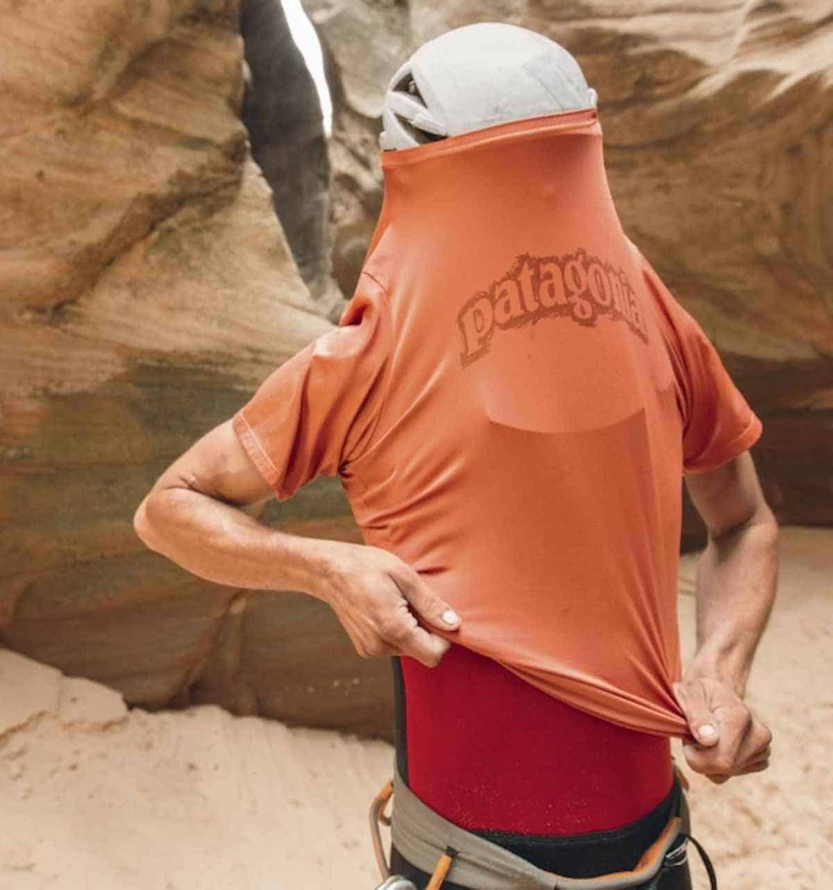 Tee-riffic Sustainable & Eco Friendly T-shirts Image by Patagonia #ecofriendly #sustainablefashion