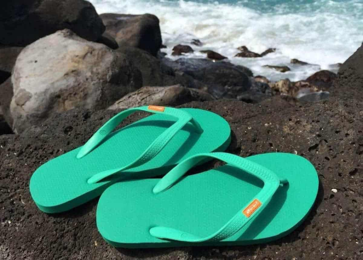 17 Flippin Fab, Eco Friendly and Recycled Flip Flops Image by Olli #recycledflipflops #ecofriendlyflipflops #ethicalflipflops #sustainableflipflips