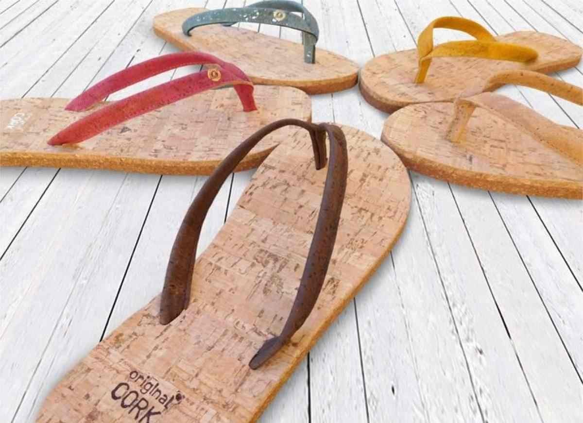 17 Flippin Fab, Eco Friendly and Recycled Flip Flops Image by Original Cork Shop #recycledflipflops #ecofriendlyflipflops #ethicalflipflops #sustainableflipflips #compostableflipflops