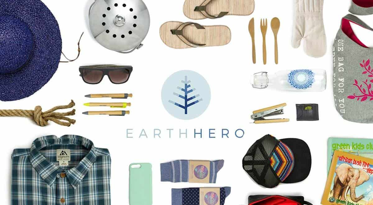 Best Zero Waste & Bulk Online Stores For All Your Package Free Shopping Image by Earth Hero #zerowaste #onlinestores