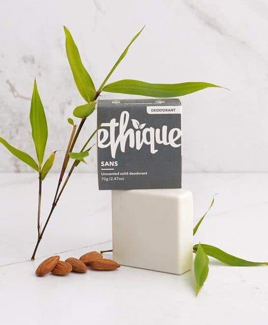 nvironmentally Friendly Deodorant - Image by Ethique #environmentallyfriendly #ecodeodorant
