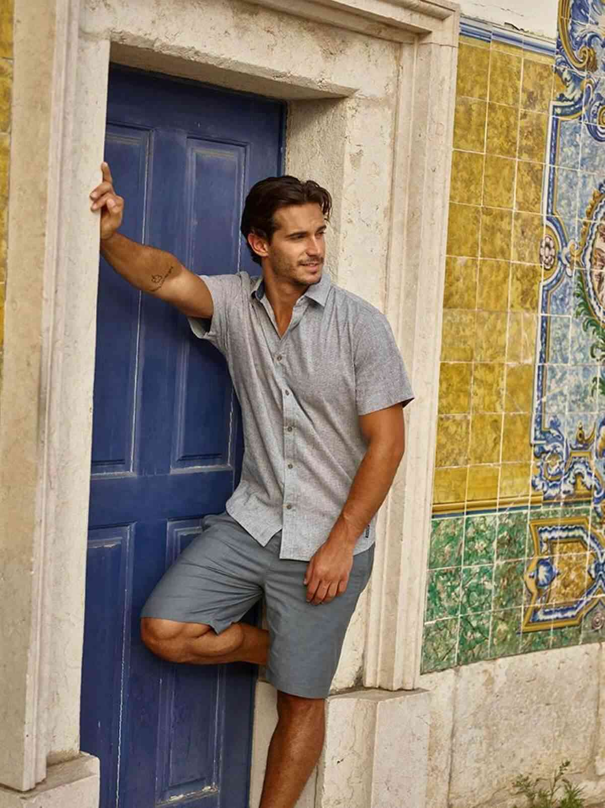 Shopping can be enough torture without all the pressure of working out where to get sustainable mens clothing so we've done the hard work for you... Image by prAna #sustainablefashion #mensfashion