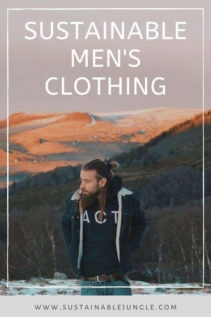 Shopping can be enough torture without all the pressure of working out where to get sustainable mens clothing so we've done the hard work for you... Image by Kuyichi Pure Goods #sustainablefashion #mensfashion