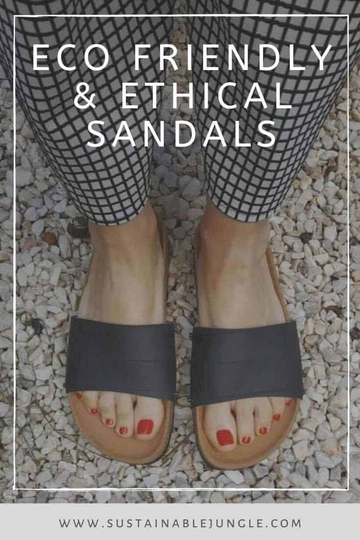 In the spirit of walking towards a greener future, we've been hunting for ethical and eco friendly sandals Image by Eating The Goober #ecofriendlysandals #ethicalfashion