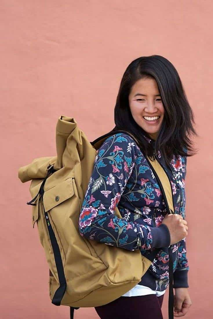 After spending lots of time researching what makes fashion sustainable, we now present this masterlist of the best sustainable clothing brands... Image by Sherpa Adventure Gear #sustainableclothing #ethicalfashion