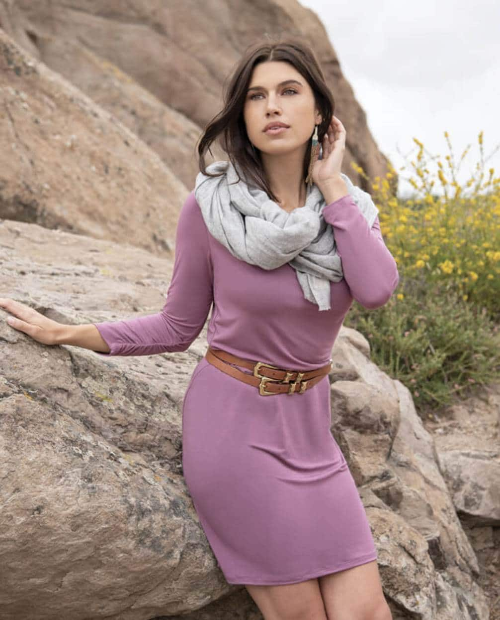 Here's our list of ethically made fair trade dresses for every eco-cassion Image by Synergy Organic Clothing #sustainablefashion #fairtrade #ethicallymade